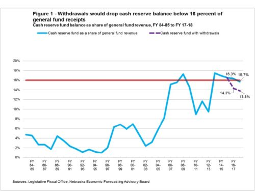 Policy brief — Infrastructure is important, so is a strong cash reserve